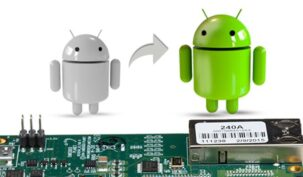 Android animation with a chipset